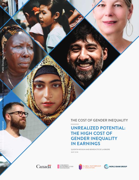 Informe Banco Mundial desigualdad de género