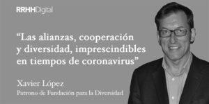 Xavier López, Patrono de Fundación para la Diversidad