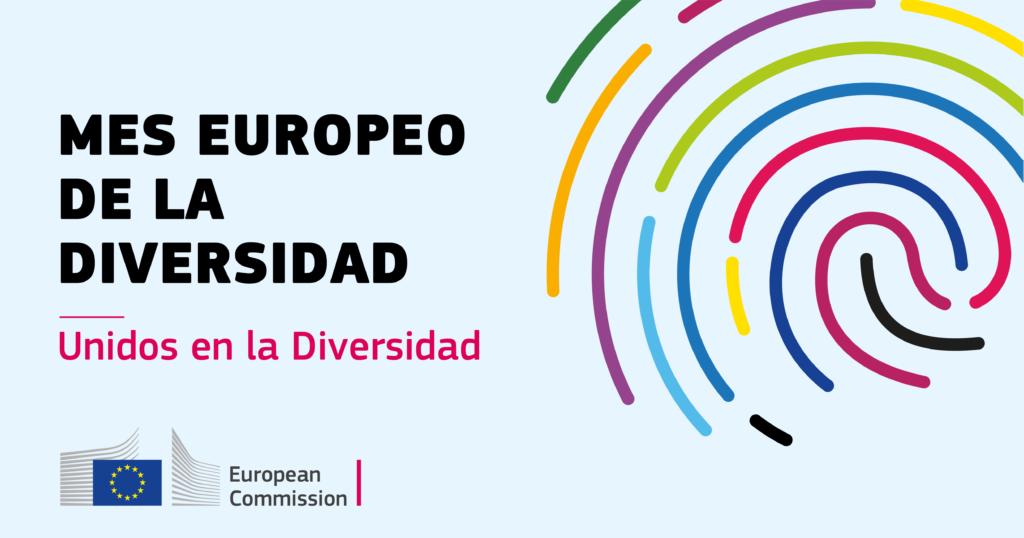 Logo del Mes Europeo de la Diversidad