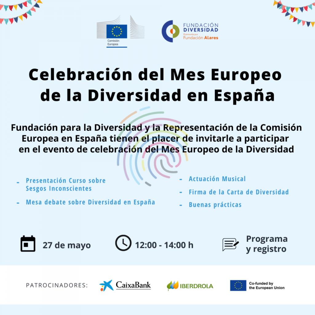 Invitación Mes Europeo de la Diversidad